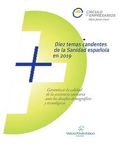 Presentació de l'informe 10 temas candentes de la sanidad española